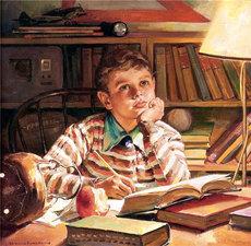 studerande pojke Harold Andersson
